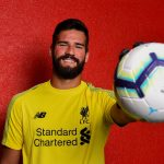 The Brazil goalkeeper Alisson makes Liverpool switch