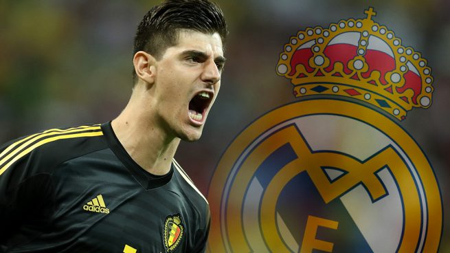 Courtois moves Chelsea Real Madrid