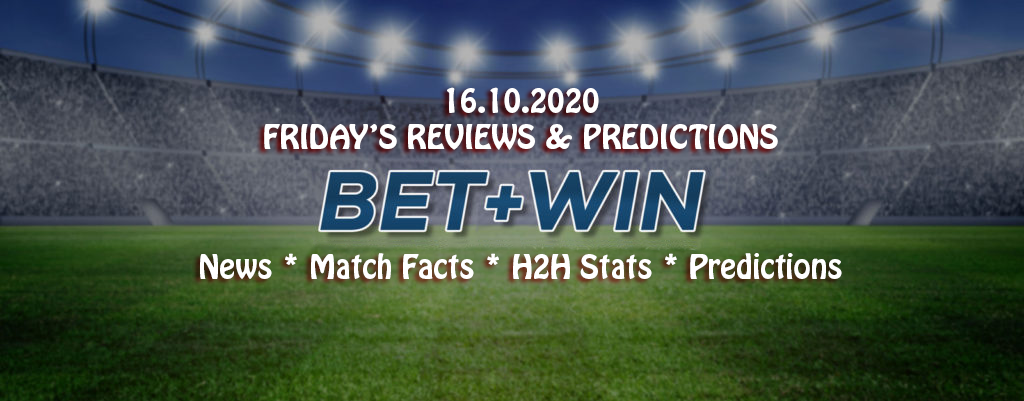 Match Facts, H2H & Predictions 16.10.2020