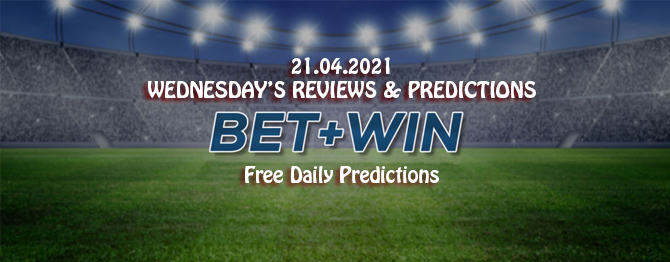Free daily predictions 21 04 2021