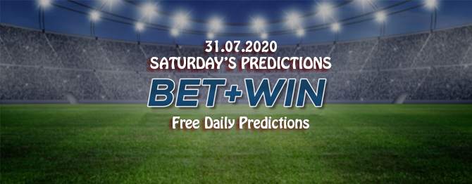 Bet and Win Predictions 31.07.2021