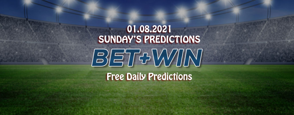 Daily Predictions 01 08 2021