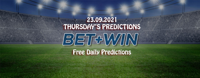 Free daily predictions 23 09 2021
