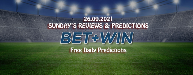 Free daily predictions 26 09 2021